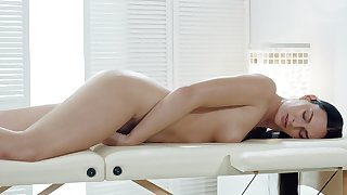 Massive inches be fitting of dick with respect to adjust the cock riding masseuse