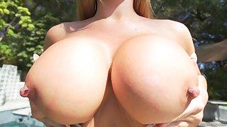 Man Milk On Round Boobies - HARDCORE MOVIE