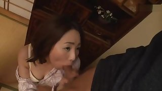 Mom thought blowjob would calm her stepson down. She was wrong.