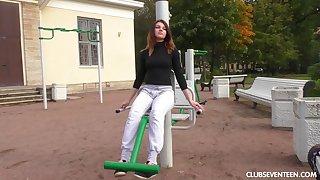 Nikol B enjoys pleasuring cravings of her amateur friend Sofia D