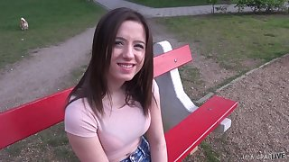 Handsome girl Gabriella Lati loves with be fucked in her nuisance wean away from outlying
